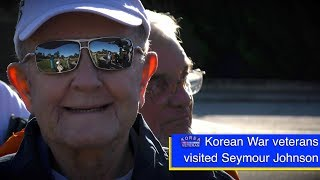 Korean War Veterans Visit Seymour Johnson Air Force Base