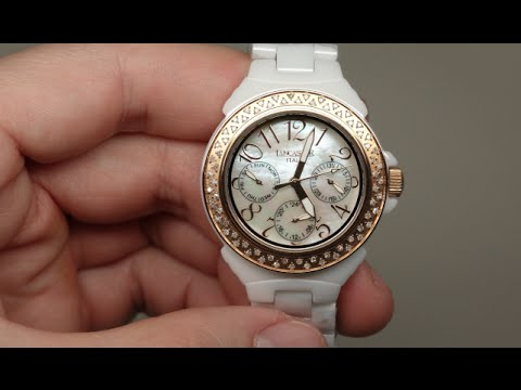 Lancaster Italy Ceramik Diamonds Women's Watch Review Model: OLA0649RG-BN