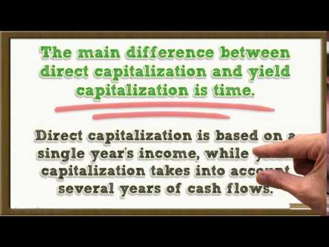 Yield Capitalization - How to Appraise Commercial Real Estat