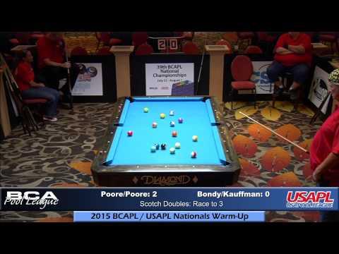 2015 Nationals Warm-Up: Brian Poor/Veronica Poore vs Ronald Bondy/Kim Kauffman