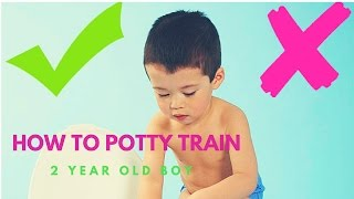 How To Potty Train a 2 Year Old Boy | Proven Method