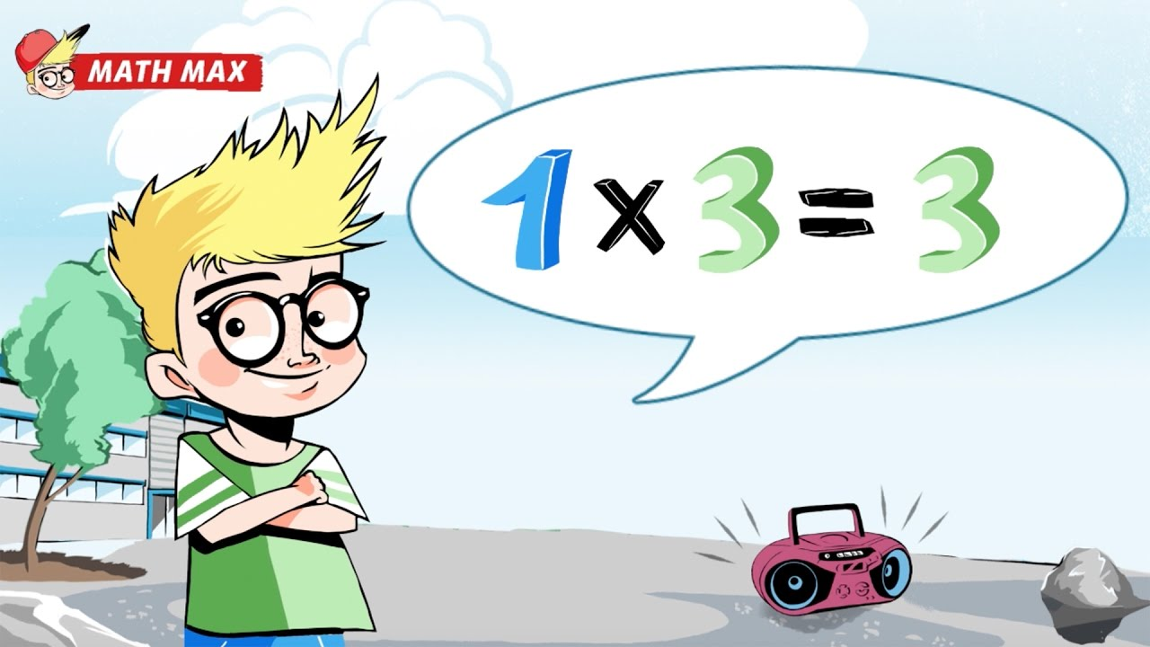 3 times tables learn your facts the fun way math max 3 times tables learn your facts the fun way math max multiplication table songs gamestrikefo Choice Image