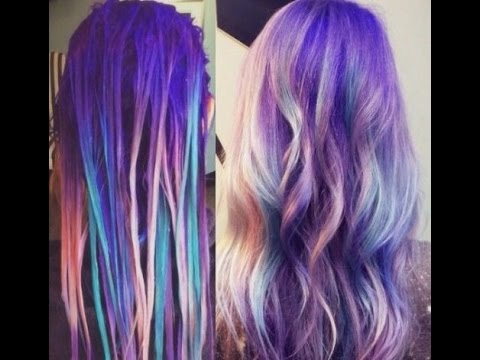 Cabellos de colores c mo pintar tu cabello looks de for Colores para pintar