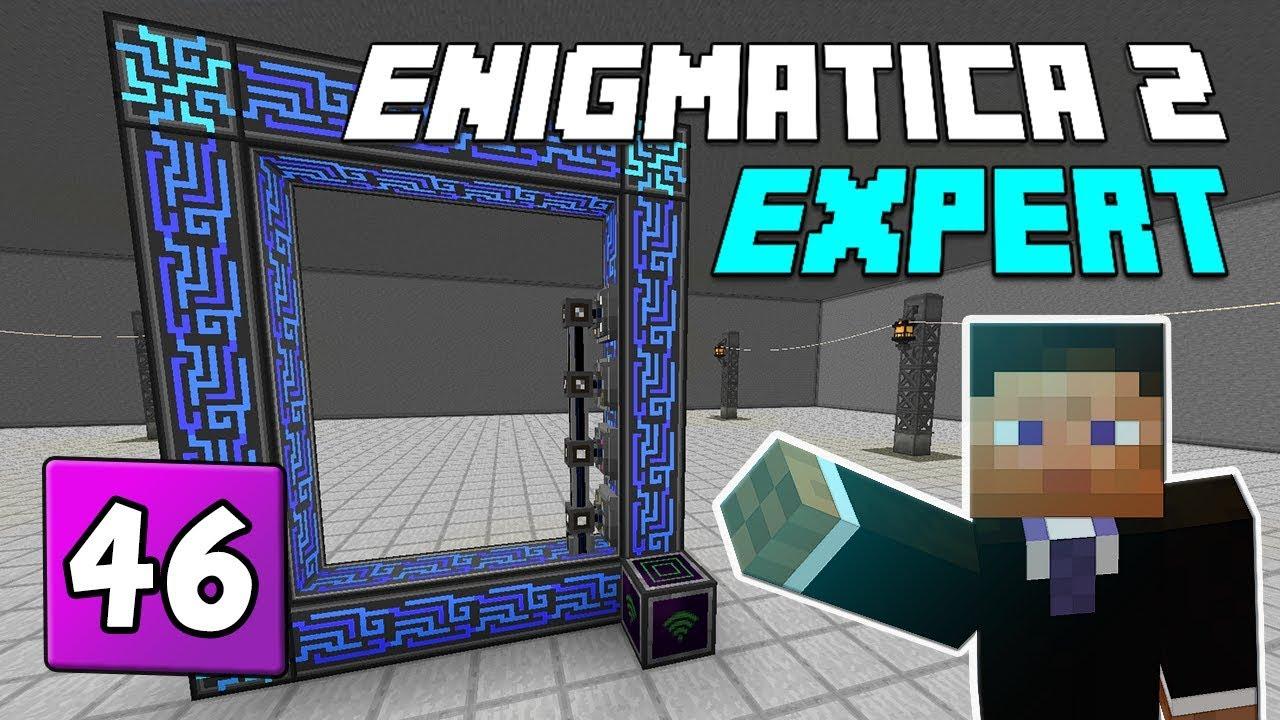 Enigmatica 2: Expert Mode - EP 46 Creative Flight & How do
