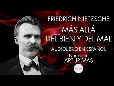 """Friedrich Nietzsche - Más Allá del Bien y del Mal (Audiolibro en Español) """"Voz Real Humana"""""""