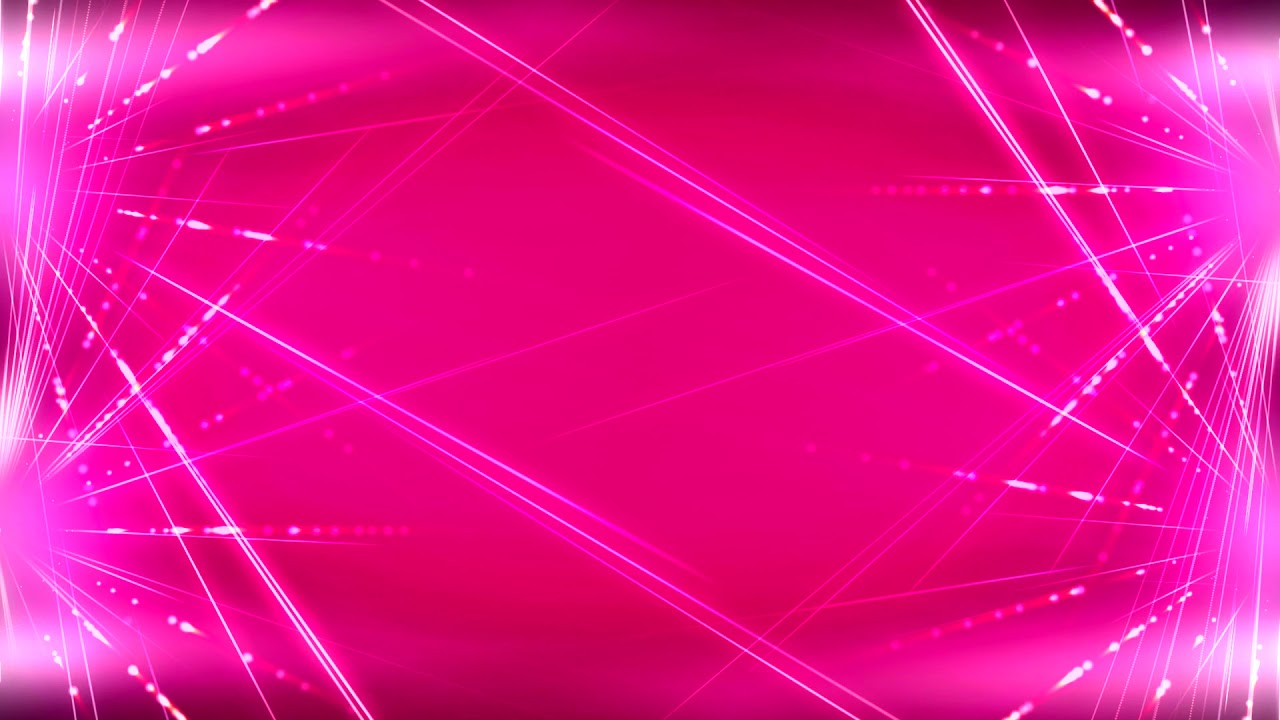 Pink Light Video Background Full HD