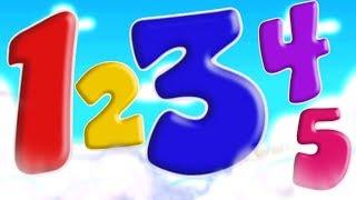 Canção Dos Números | Vídeos De Aprendizagem Pré-Escolar | Numbers Song | 3D Kids Song