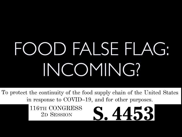 Farms Blamed for COVID19 - Brucellosis/False Flag? - SB4453 -