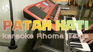 PATAH HATI - KARAOKE RHOMA IRAMA
