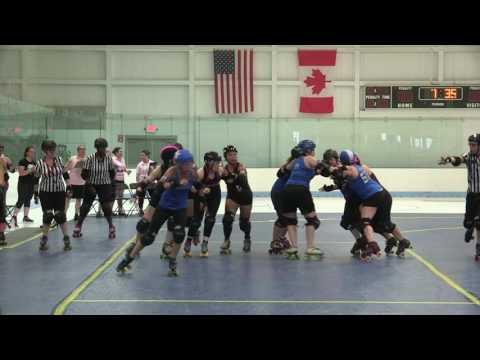 2016 Boston Roller Derby Hometeam Season: July 16 - Cosmonaughties vs Nutcrackers