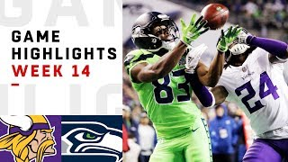 Seahawks vs. Vikings Week 14 Highlights | NFL 2018