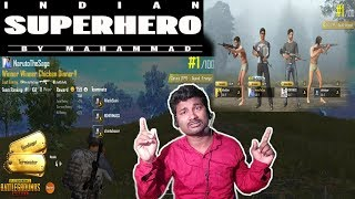 PUBG Mobile Game Play EPISODE 3 | Squad | TPP | Indian SuperHero Style