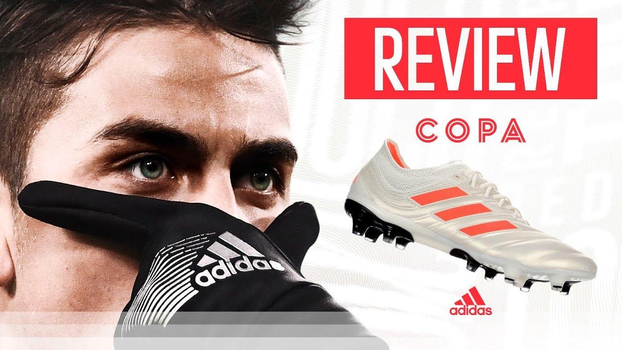 Implementar Abrumar Vendedor  Las nuevas botas de fútbol de Toni Kroos y Dybala? / REVIEW de las nuevas  adidas Copa 19.1 / - YouTube