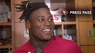 Reuben Foster Discusses His Excitement to Rejoin His Teammates in Week 3
