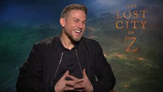 THE LOST CITY OF Z: Charlie Hunnam Talks Losing 35lbs, Dangers Filming & More!