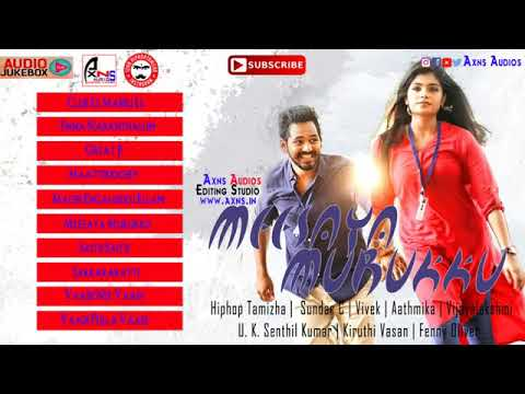 Meesaya Murukku Audio Jukebox   Hiphop Tamizha   Axns Audios