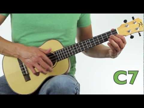 How To Play Here Comes Santa Claus on Ukulele Tutorial