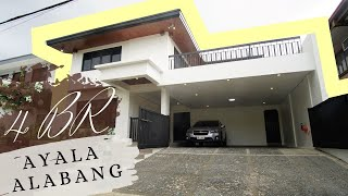 AYALA ALABANG | HOUSE FOR SALE| 4BR + Family Room | Warm & Cozy