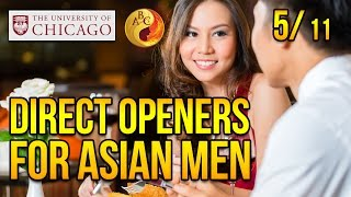Direct Openers for Asian Men at University of Chicago, Part 5