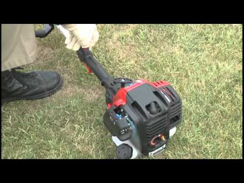 The Tb525 Ec Gas String Trimmer How To Set Up Your 4 Cycle Troy Bilt