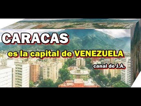 CARACAS es la capital de VENEZUELA
