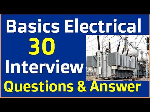 Electrical basics Interview question and answer in hindi