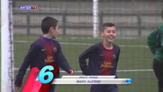 Top ten goals of La masia