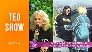 Teo Show (09.04.2019) - Lavinia Parva si Stefan Banica Jr., goana dupa mobila pentru bebel ...
