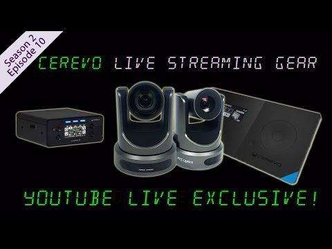 Cerevo LiveWedge & LiveShell ★ YouTube Live Exclusive ★