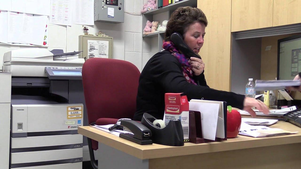 Maureen Douglas - Office Administrator - YouTube