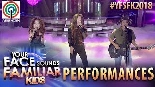 Your Face Sounds Familiar Kids 2018: TNT Boys as Aegis | Sinta