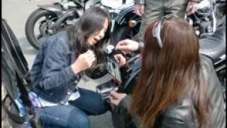 Repeat youtube video BIKER GIRLS 37 バイカーガールズ(?) Harley-Davidsonツーリングno3