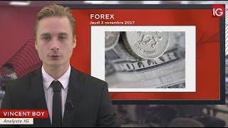Bourse - GBP:USD, poursuite de la hausse - IG 02.11.2017