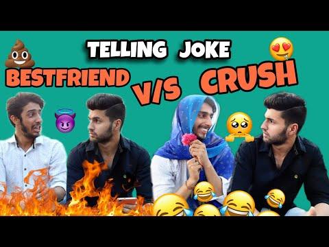Telling Joke(BestFriend VS Crush) P2 | Rakshit Kohli