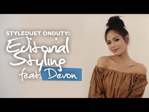 STYLEDUET ON DUTY: Editorial Styling w/ Devon