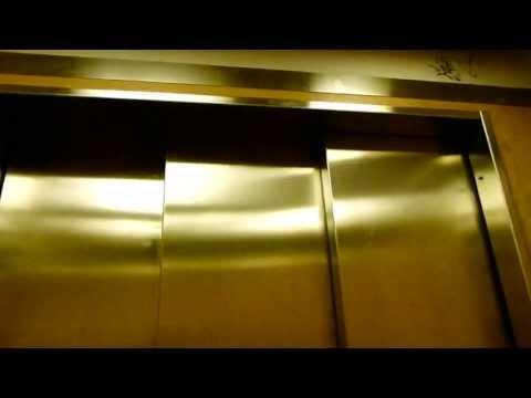 Vintage modernized elevator in Stockholm