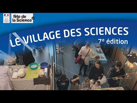 Village des sciences 2016 au Teil