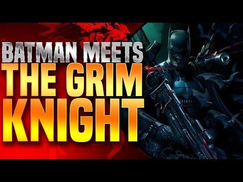 Batman Meets The Grim Knight!