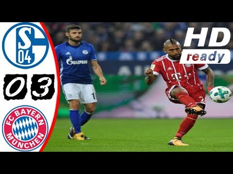 Schalke 04 vs Bayern Munich 0 - 3 All Goals, Skill, Save ...