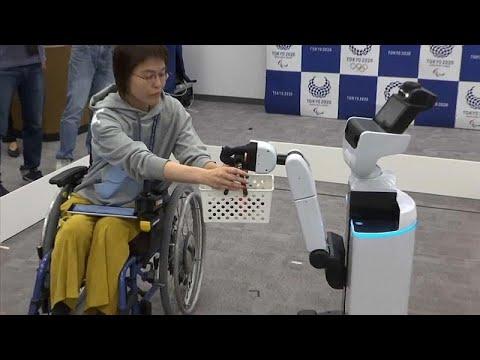 شاهد: روبوتات لخدمة -ذوي الاحتياجات الخاصة- في الألعاب الأولمبية بطوكيو…  - 09:53-2019 / 3 / 16
