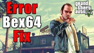 Bex64 GTAV PC Fix | Решение ошибки Bex64 для ГТА 5(Исправление ошибки Bex64 при запуске ГТА 5. Нужно всего лишь отключить видеокарту при запуске и сразу же включ..., 2015-04-14T13:18:45.000Z)