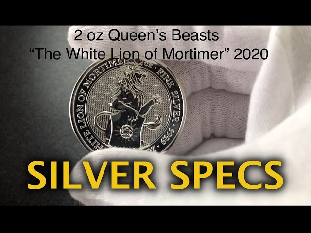 Silver Specs- 2 oz Queen's Beasts