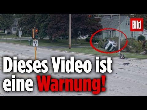 Polizei veröffentlicht Unfallvideo