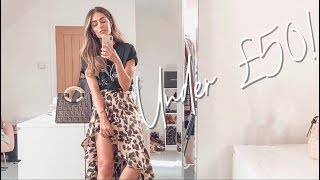 HIGHSTREET PICKS UNDER £50 | Lydia Elise Millen