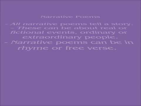 Haiku and Narrative Poems