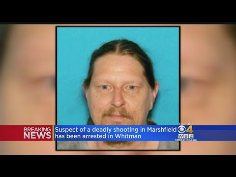 Suspect In Deadly Marshfield Shooting Arrested In Whitman