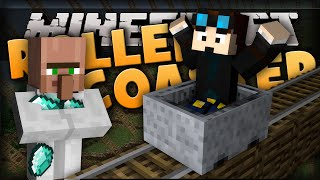Minecraft: DiamondMinecart ROLLERCOASTER! (DanTDM) | Command Creation