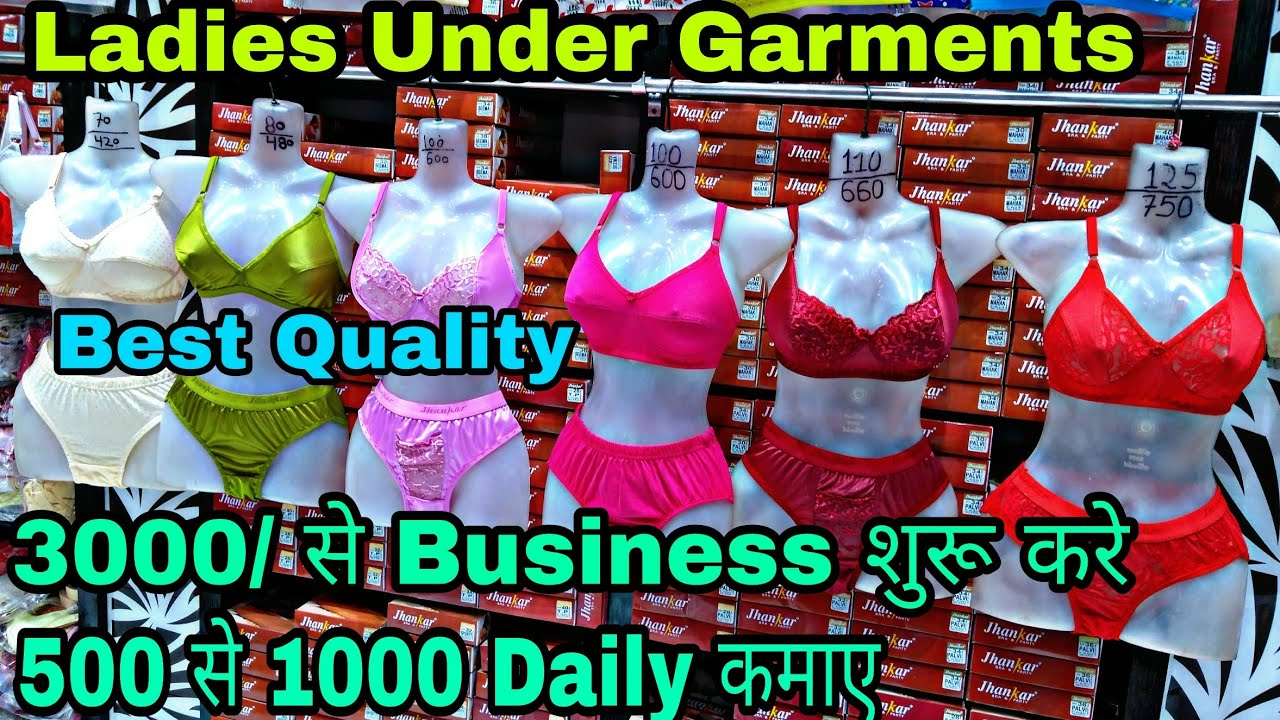 4b57d014a1 Wholesale Ladies Under Garments Bra Panty Market Gandhi Nagar Delhi ...