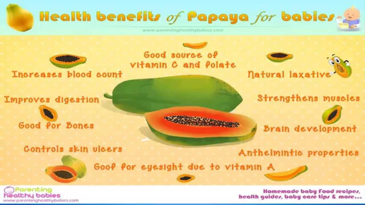 Health Benefit Of Papaya For Babies - YouTube