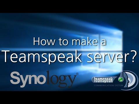 How to make a Teamspeak 3 server on a Synology Nas (2017)